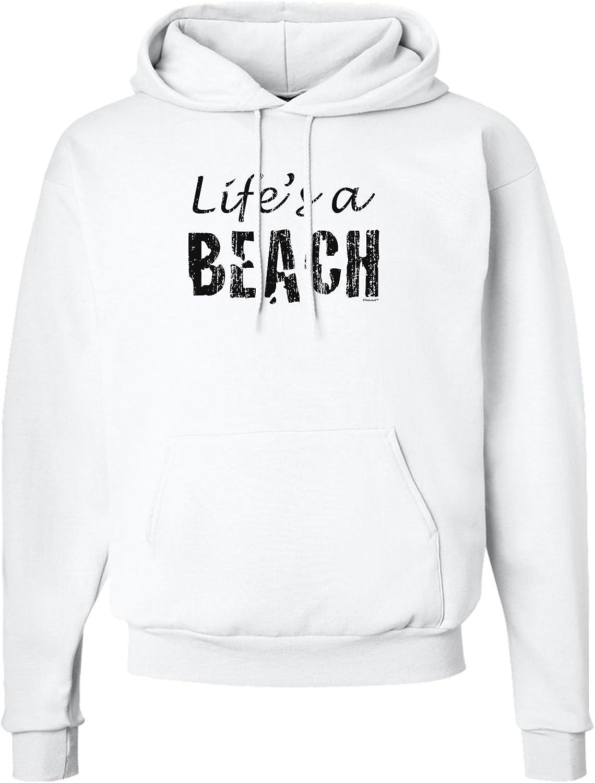 TooLoud Lifes a Beach Color Sweatshirt