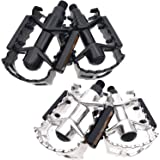 """ARTHEALTH Bicycle Pedals Bike Pedals Aluminum Alloy 9/16"""" Inch High Performance Pedals for Bikes Mountain Bikes Road Bicycles Platform Pedals"""