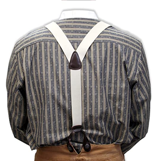 Men's Vintage Vests, Sweater Vests Elastic Y-Back Braces $25.95 AT vintagedancer.com