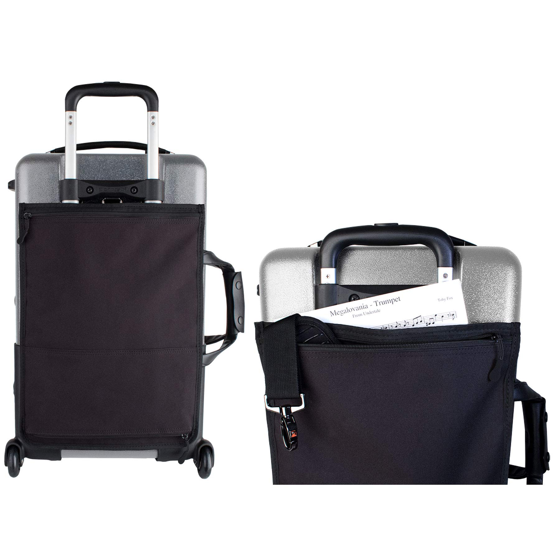 Protec Triple Trumpet Case with Wheels, Silver (BLT301TSX) by ProTec (Image #2)