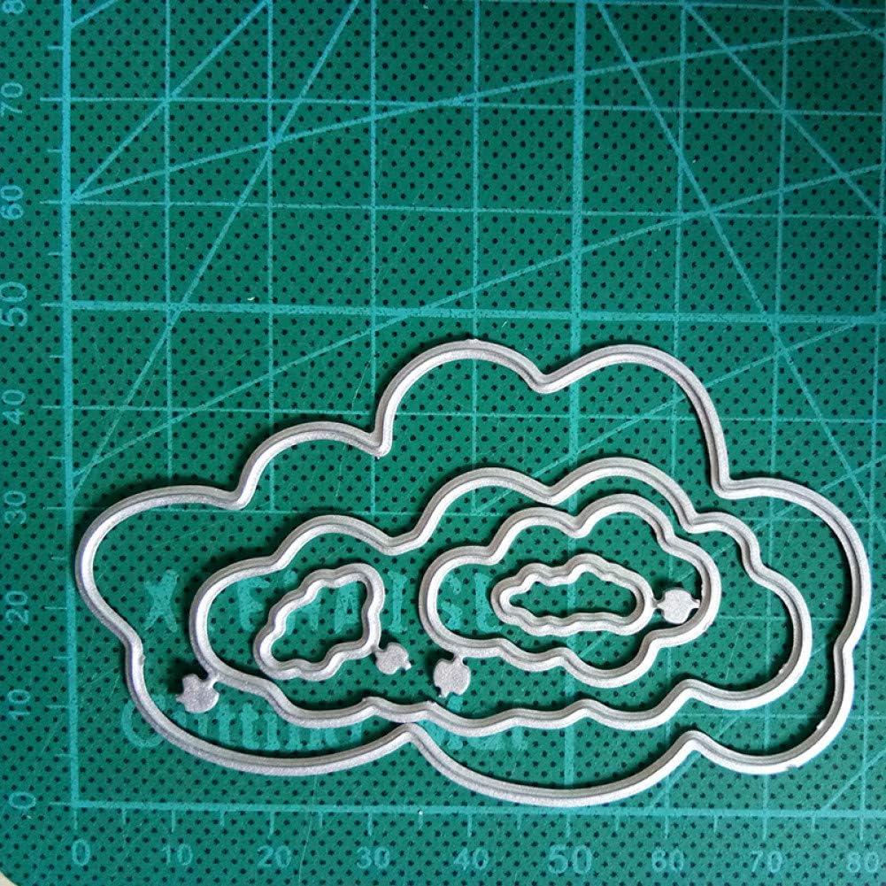 Cross-cutting mold Cloud border metal cutting dies for diy scrapbook album embossing paper cards decorative craft die cuts