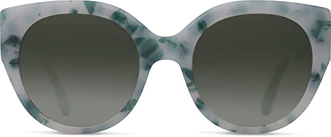 87c665a1914ee Image Unavailable. Image not available for. Colour  TOMS 10009572 Women s  Luisa Mojito Frame Grey Gradient Lens Cat-Eye Sunglasses