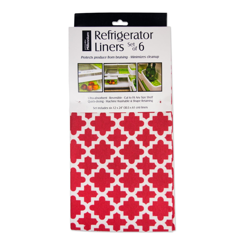 DII Non Adhesive Cut to Fit Machine Washable Shelf Liner Paper For Cabinets Set of 2 Aqua Lattice CAMZ36578 Kitchen Shelves Drawers 12 x 10 Aqua Lattice 12 x 10