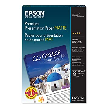 epson epson professional media semi gloss poster board b2 500 x