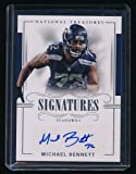 MICHAEL BENNETT 2017 NATIONAL TREASURES SIGNATURE