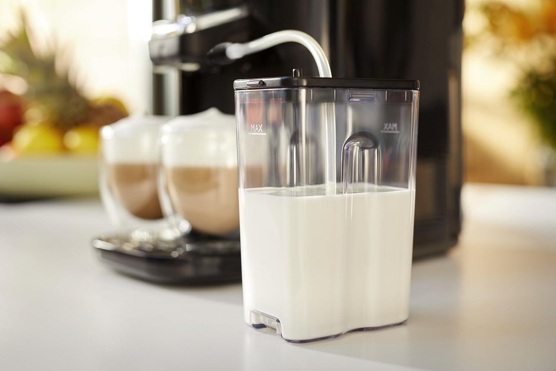 Integrierter Milchaufschäumer