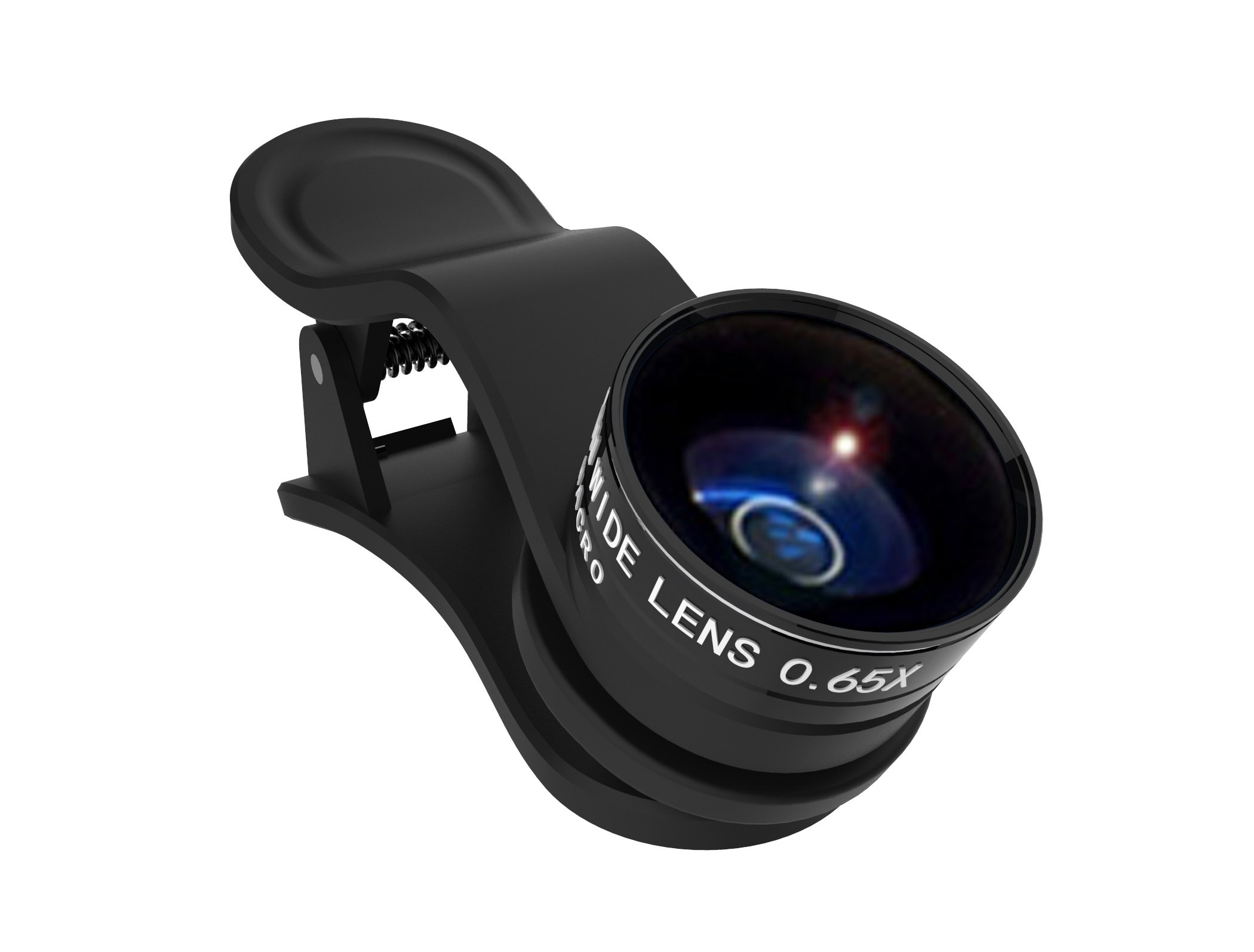 Kenko REAL PRO Multi-Coated Glass REAL PRO 0.6x Wide Angle + Macro Clip Lens for Mobile Devices, Black (KRP-065WM)