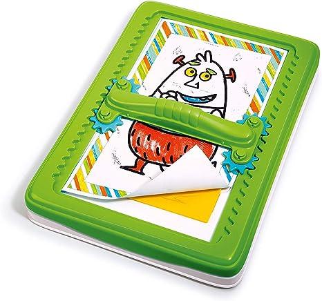 Clementoni Monster Dibujos, Juego Creativo Panel Tracing Color Kit ...