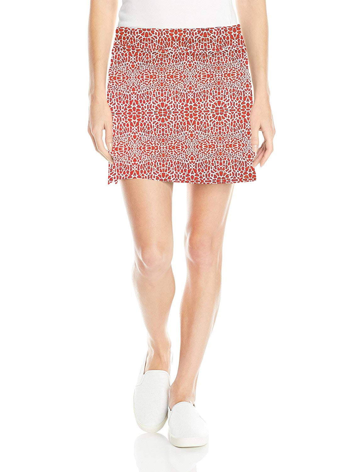 Colorado Clothing Women's Everyday Skort (Coral Mosaic, Large) by Colorado Clothing