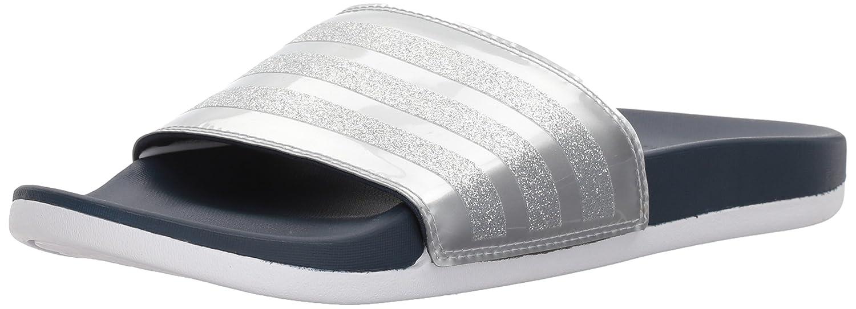 adidas Women's Adilette CF+ Explorer W Sport Sandal B072FH1QVM 10 B(M) US|Collegiate Navy/Collegiate Navy/White