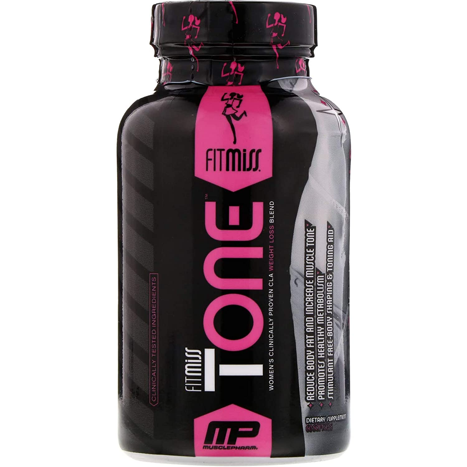 fd65f77a0 Amazon.com: FitMiss Tone, Women's STIMULANT FREE & Mid-Section Fat ...