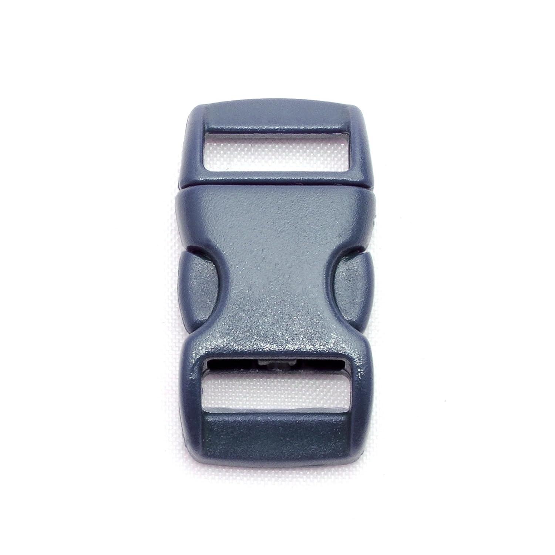 """id/éal pour les paracordes couleur: bleu marine bracelet, collier pour chien, etc de la marque Ganzoo 29mm x 15mm boucle attache /à clipser grandeur: 3//8/"""" Fermoir /à clip en plastique lot de 20 fermoirs"""