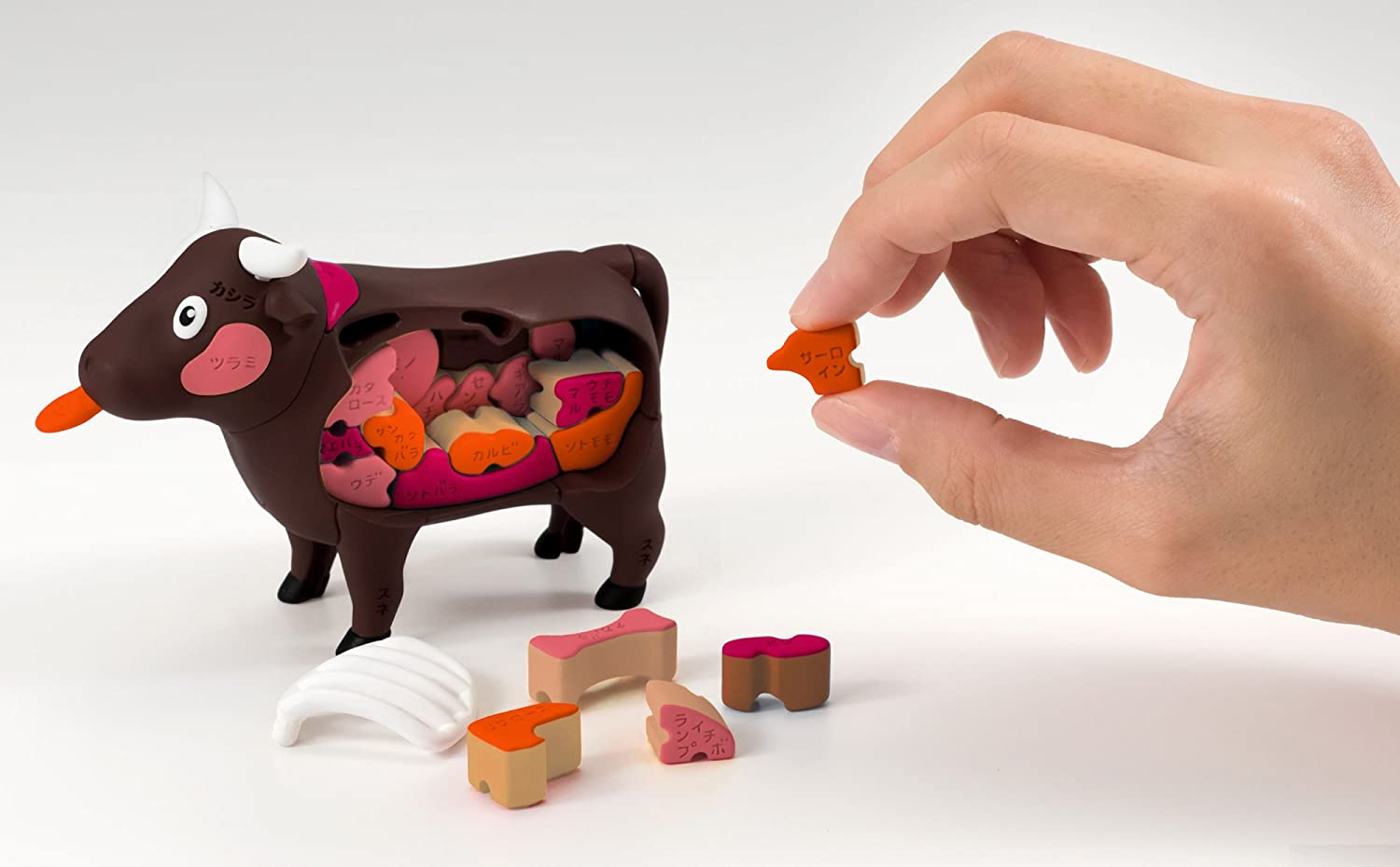Megahouse Cow Demolition Puzzle from Japan