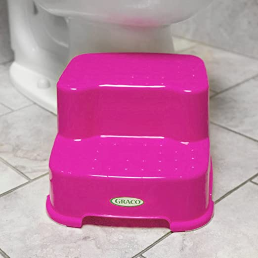 Admirable Graco Transitions Step Stool Pink Bralicious Painted Fabric Chair Ideas Braliciousco