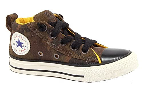 9618901920d7 CONVERSE ALL STAR STREET MID SUEDE 646203C LB KIDS TRAINERS  Amazon ...