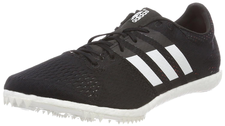 Adidas Adizero Avanti, Zapatillas de Atletismo Unisex Adulto 47 1/3 EU|Negro (Negbas/Ftwbla/Naranj 000)