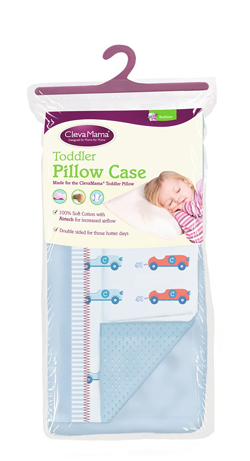 Clevamama Replacement Toddler Pillow Case (Blue) 7509