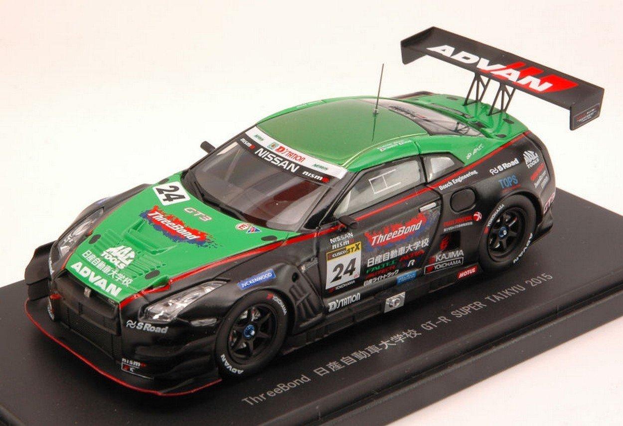 Ebbro EB45315 Nissan GT-R N.24 Super TAIKYU 2015 HOSHINO-Fujii-Sasaki 1:43