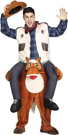 Amazon.com: Ride un disfraz de burro para adulto, talla ...
