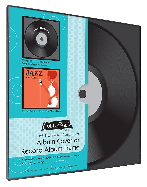 9f38137ea46f Amazon.com - MCS 12.5x12.5 Inch Format Frame for Record Album or Album  Cover (65662) -