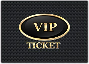 12 X Set VIP Party Einladungskarten Kindergeburtstag Ausgefalle Einladung  Jungen Mädchen Erwachsene