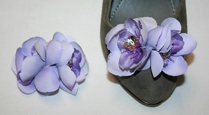 9cba67a7656aab Amazon.com  Light Purple Clip for Shoes (2 piece)