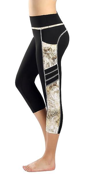 Munvot Mujer Leggins y Mallas de Cintura Alta para Yoga ...