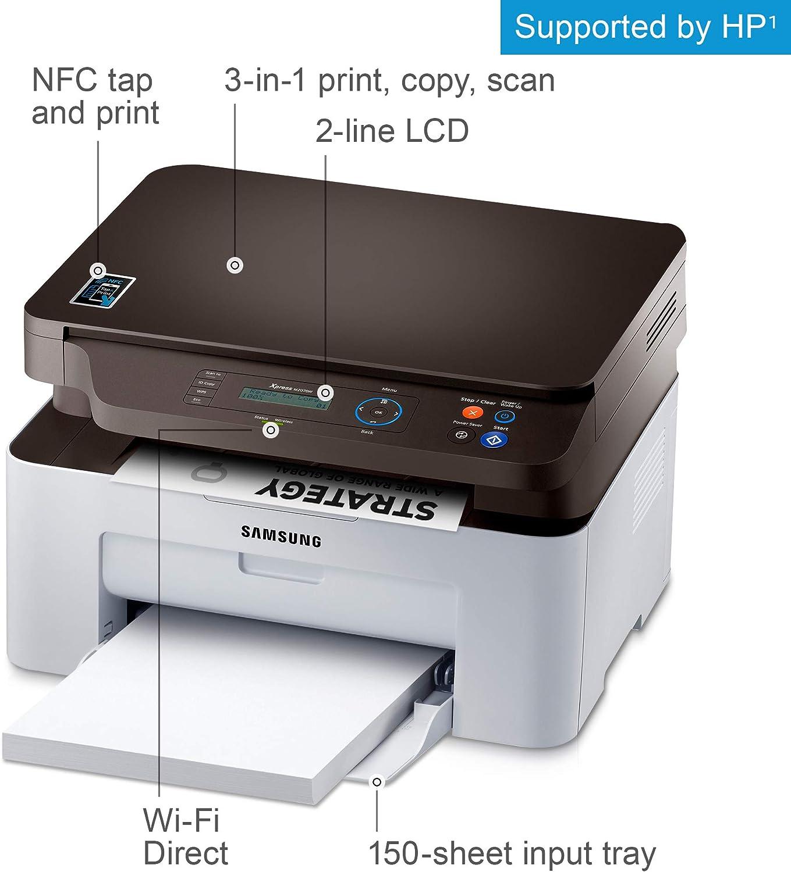 Samsung Xpress SL-M2070W Laser A4 WiFi Gris Multifuncional ...
