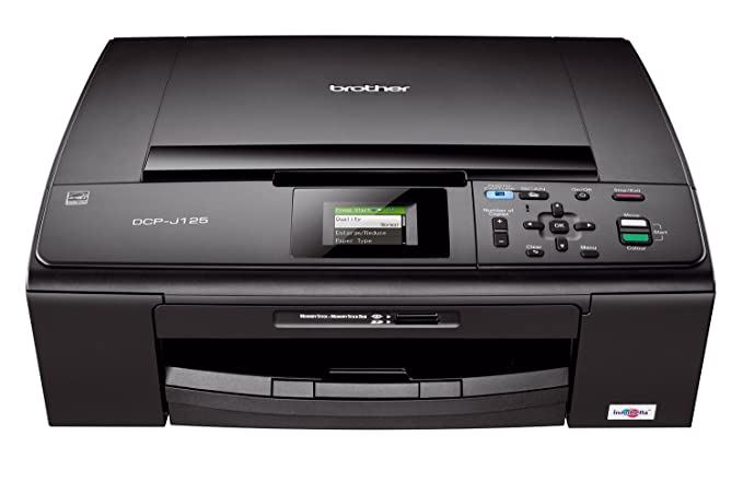 Brother Dcp-j125 Scan To Pdf