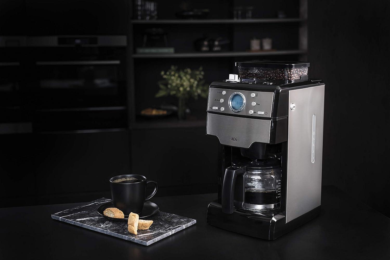 AEG KAM 400 Kaffeemaschine mit elektrischem Mahlwerk