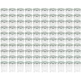 100 x WELLGRO® Einmachgläser mit Schraubdeckel - 435 ml, 8,5 x 12 cm (ØxH), Glas/Metall, grün karierte Deckel To 82, Gläser Made in Germany