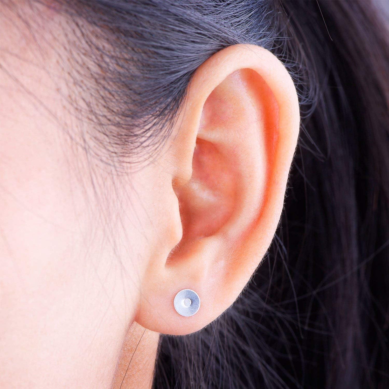 200 Paare EdelDILISENhl Ohrringe Beitr/äge Flat Pad mit Schmetterling Ohrring R/ücken f/ür Ohrring 400 St/ücke die Ergebnisse