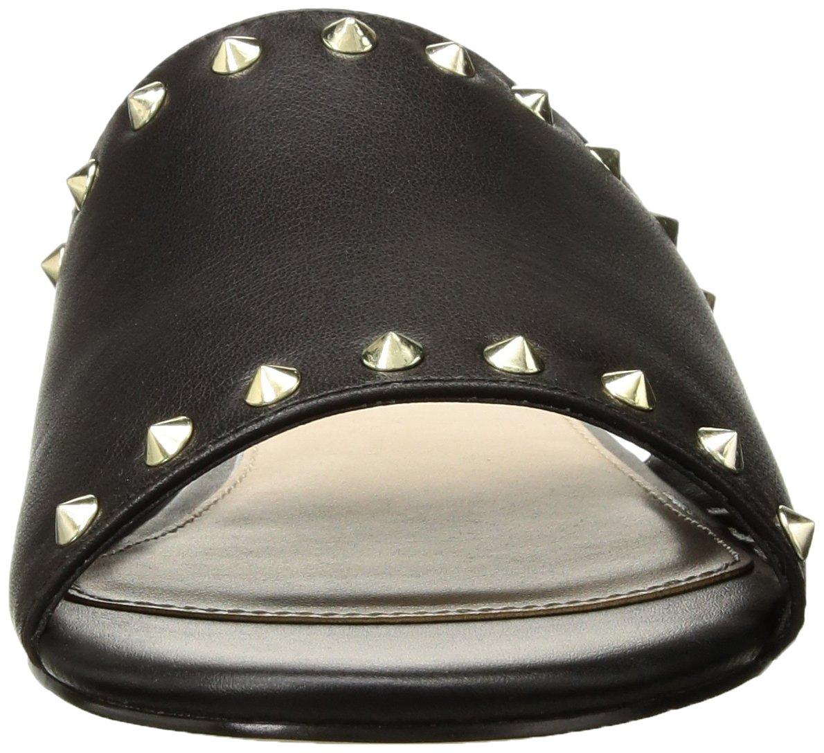 ALDO Women's Thoalle Slide Sandal B0791RJJL2 8 B(M) US Black Leather