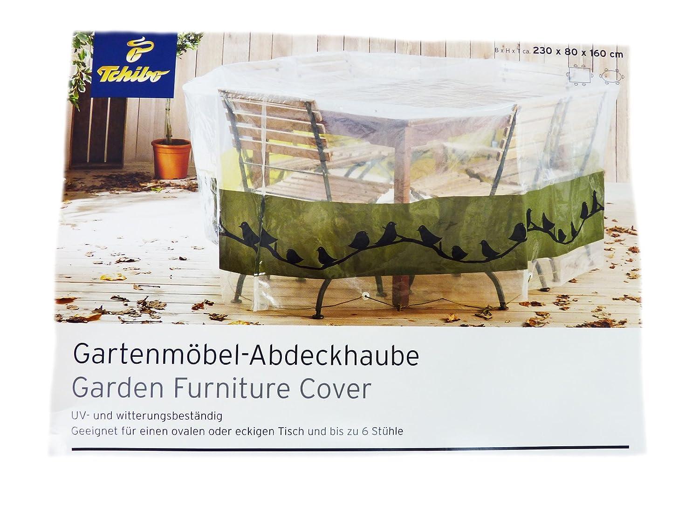 Amazon.de: TCM Tchibo Gartenmöbel Abdeckhaube Schutzhülle Tisch ...