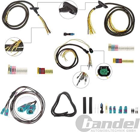 3 x vehículo Índice Fischer rep.Juego de cable algodón portón + Antena