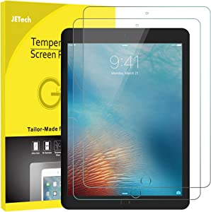 JETech Screen Protector for iPad mini 5 (2019) and iPad mini 4, Tempered Glass Film, 2-Pack
