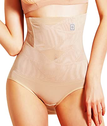 01340281efa66 Junlan Invisable Strapless Body Shaper High Waist Tummy Control Panty Slim  Butt Lifter  Amazon.co.uk  Clothing