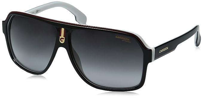 Carrera 1001/S 9O 80S Gafas de sol, Negro (BLACK WHITE/DARK ...