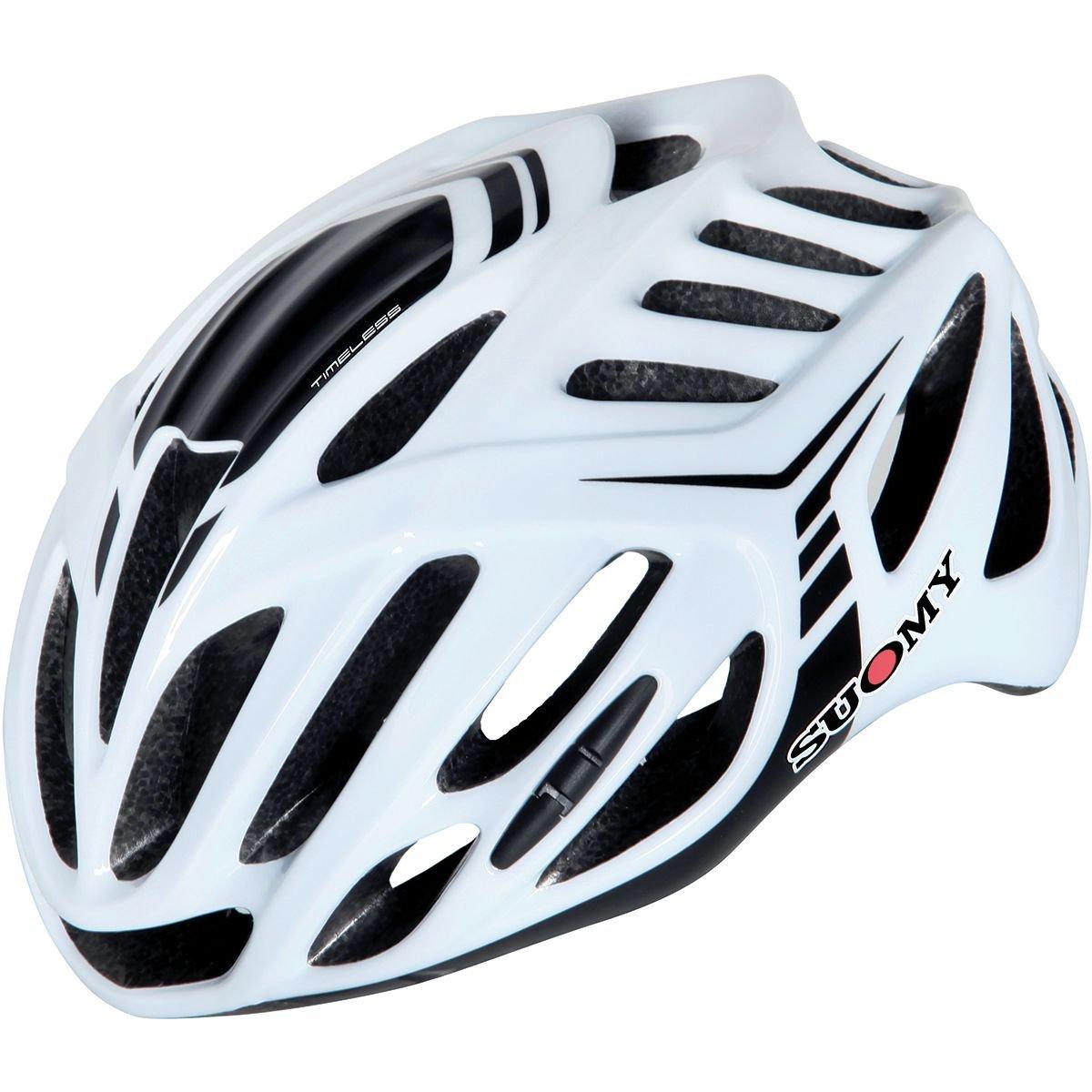 Suomy Timeless Helmet White/Black, L/XL by Suomy