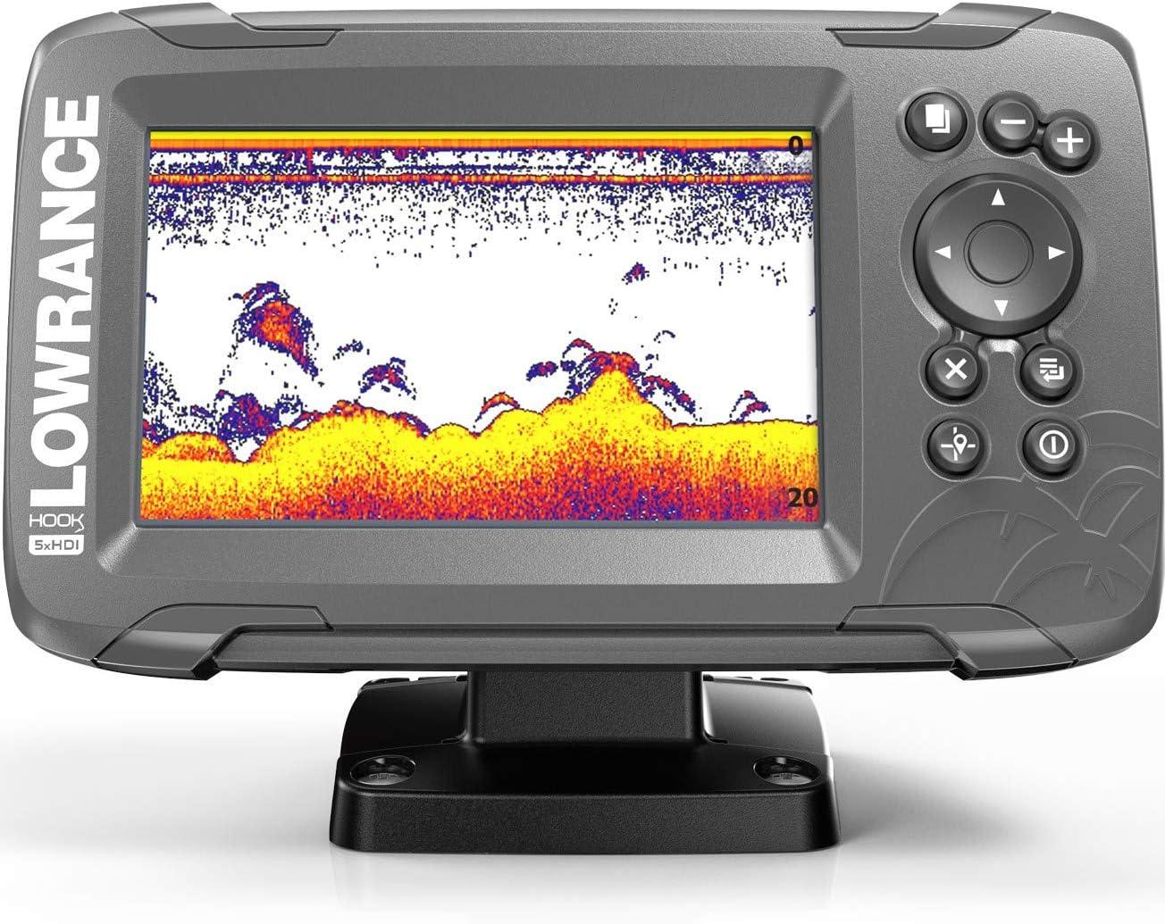 Lowrance HOOK2-5X Hook2 Splitshot-GPS (HDI, localizador de Peces ...