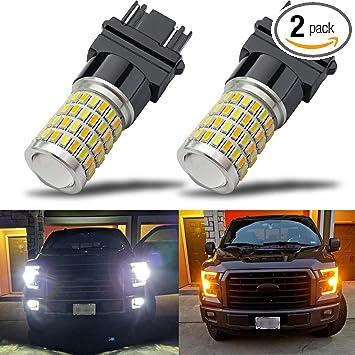4 Pcs 3157 T25 22SMD Car LED Turn Lights Backup Tail Brake Corner Light Bulbs