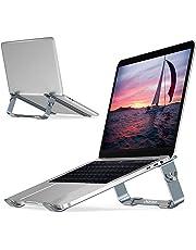 """Soporte Ajustable para computadora portátil, CHOETECH Base para laptop Aluminio Desmontable Para MacBook Air, MacBook Pro,Chromebook,Samsung,Acer,HP,Dell y otro computadora portátil ordenador 9"""" y 17"""""""