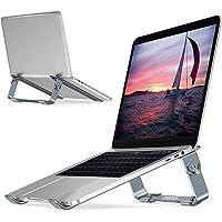 """Soporte Ajustable para computadora portátil, CHOETECH Soporte para laptop Aluminio Desmontable compatible con MacBook Air, MacBook Pro, Chromebook, Samsung, Acer, HP, Dell y cualquier computadora portátil entre 9 """" y 17"""""""