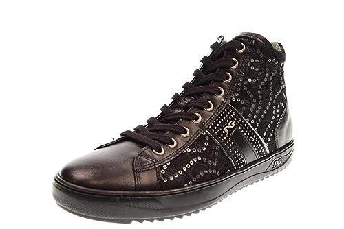 Nero Giardini Scarpe Donna Sneakers Alte A806452D 100  Amazon.it  Scarpe e  borse ad60e4e3967