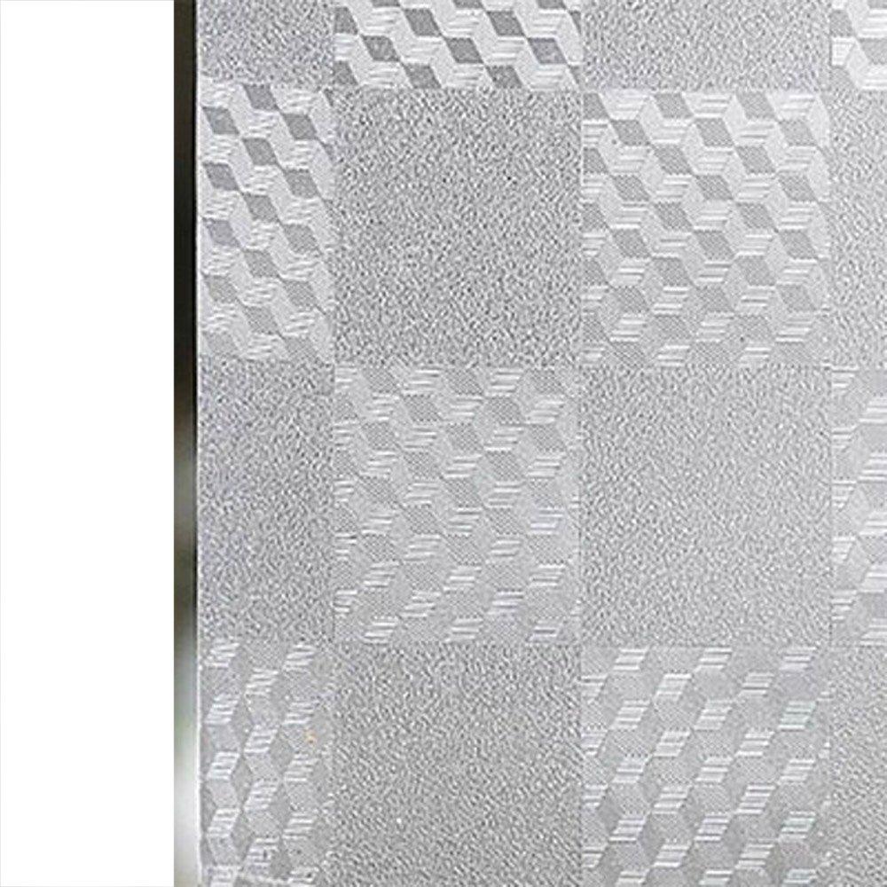 YETUGE 静電窓ガラス フィルム ステンドグラス 窓 ガラスフィルム のり不要  目隠し シート 装飾フィルム プライバシー対策 透明 UVカット 飛散防止 B07DG8CNY6 90*2000CM|4 4 90*2000CM