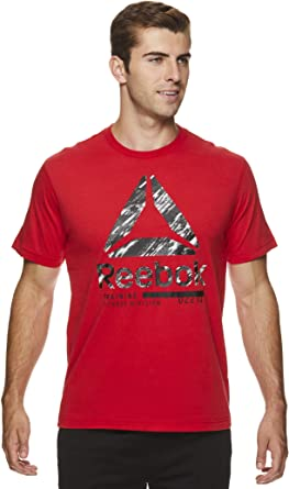 Reebok - Camiseta de manga corta para hombre: Amazon.es: Ropa y accesorios