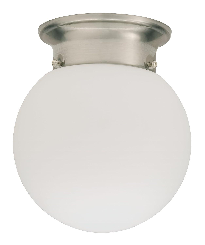 Amazon lithonia lighting fmglol 6 7830 bnp m4 led globe 6 inch amazon lithonia lighting fmglol 6 7830 bnp m4 led globe 6 inch nickel home improvement aloadofball Images