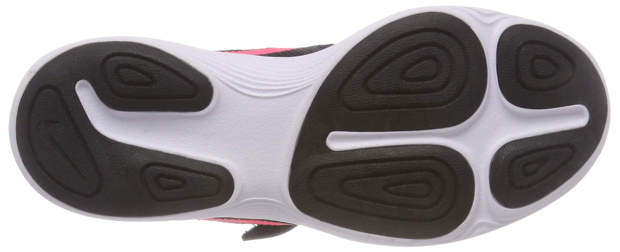 Nike Girls' Revolution 4 (PSV) Running Shoe, Black/Racer Pink - White, 12C Regular US Little Kid by Nike (Image #3)