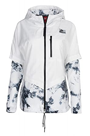 Nike International Windrunner Womens Jacket (X-Large, White)