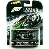 Hot Wheels Retro Entertainment Forza Motorsports Lamborghini Gallardo LP 570-4 Superleggera (Black) Die-Cast Vehicle 5/5